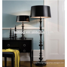 Black classic interior decoration floor lamps